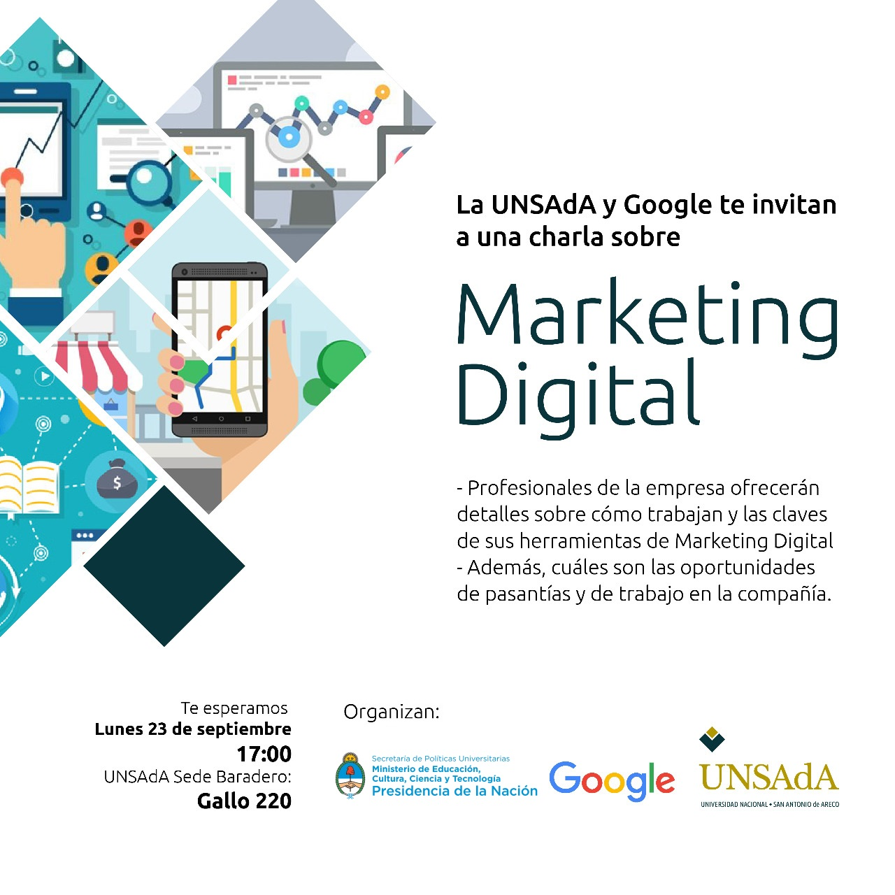 Mkt Digital Unsada Google